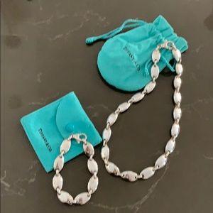 Tiffany &Co Link Necklace & Bracelet set